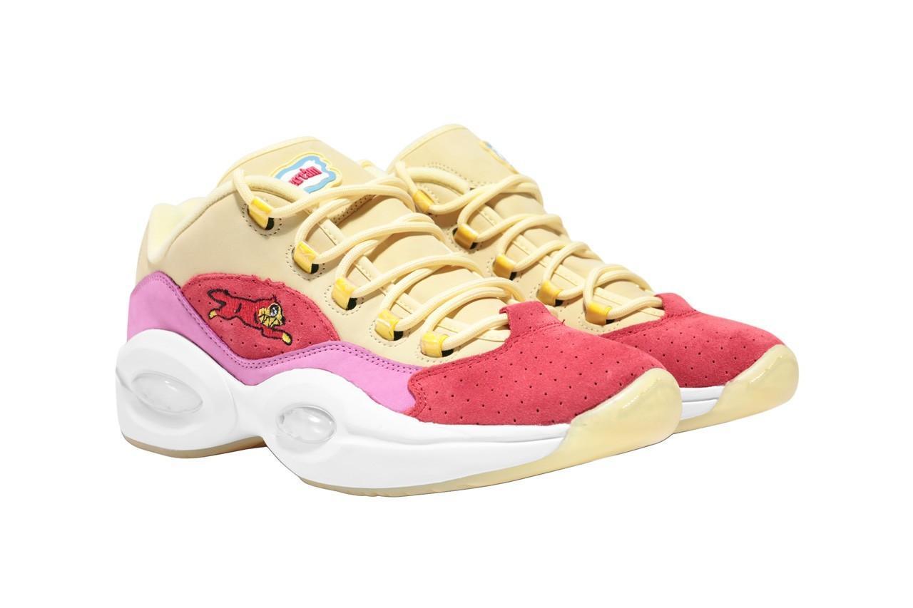 BBCICECREAM x Reebok 全新联乘系列鞋款正式发布