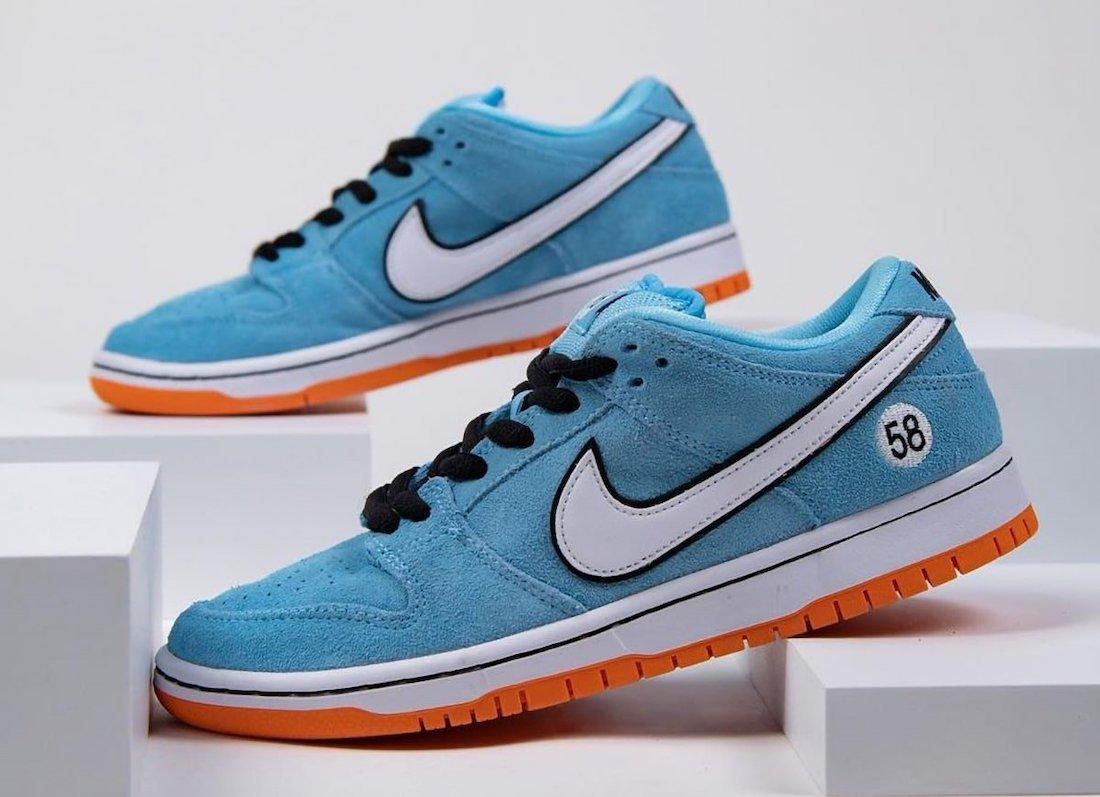 细节谍照预览WE CLUB 58 x Nike SB Dunk Low