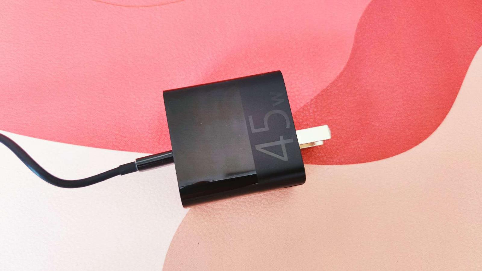 充电新体验之紫米USB-C 45W快充充电头