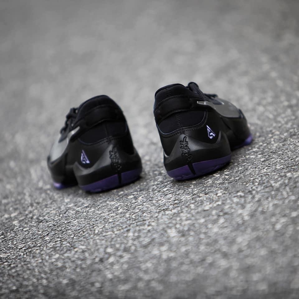 细节实拍展示黑/灰紫晶/幻影/金属银色Nike Zoom Freak 2 EP
