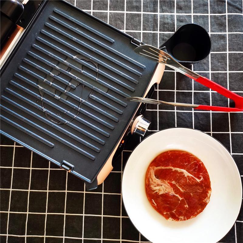 还在用电饼铛煎牛排?无言牛排机,这才是煎牛排该有的样子