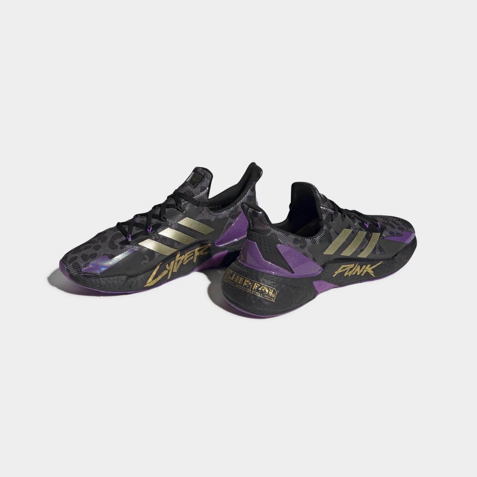 adidas Running发布全新一号黑/金/碳黑色X9000L4 Cyberpunk 2077