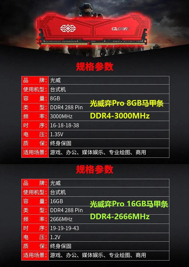 洋内存8G跌破200,光威弈Pro马甲却卖228,谁来买单?