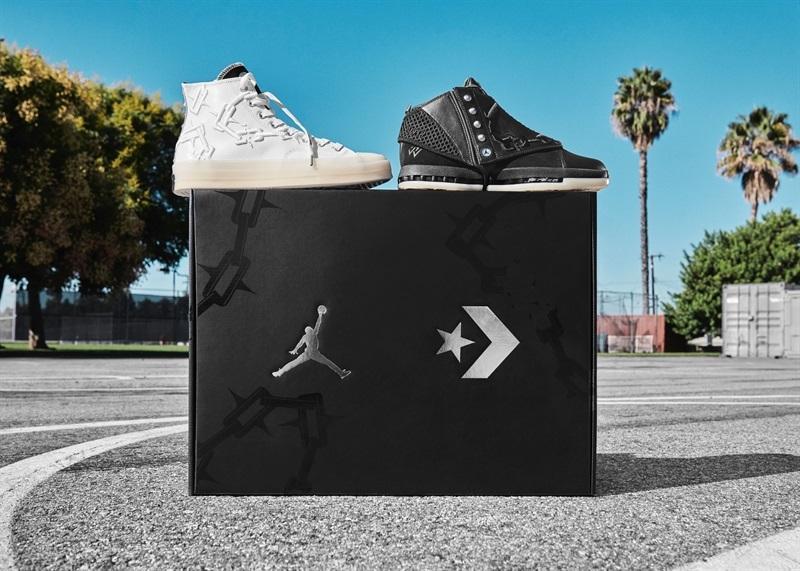 Jordan和Converse以威少的名义出了一个限量套装