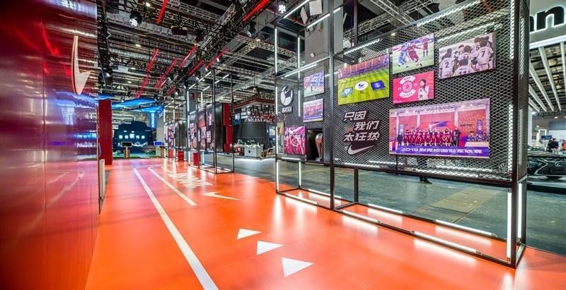 深耕中国市场,引领运动未来,耐克首次亮相中国国际进口博览会
