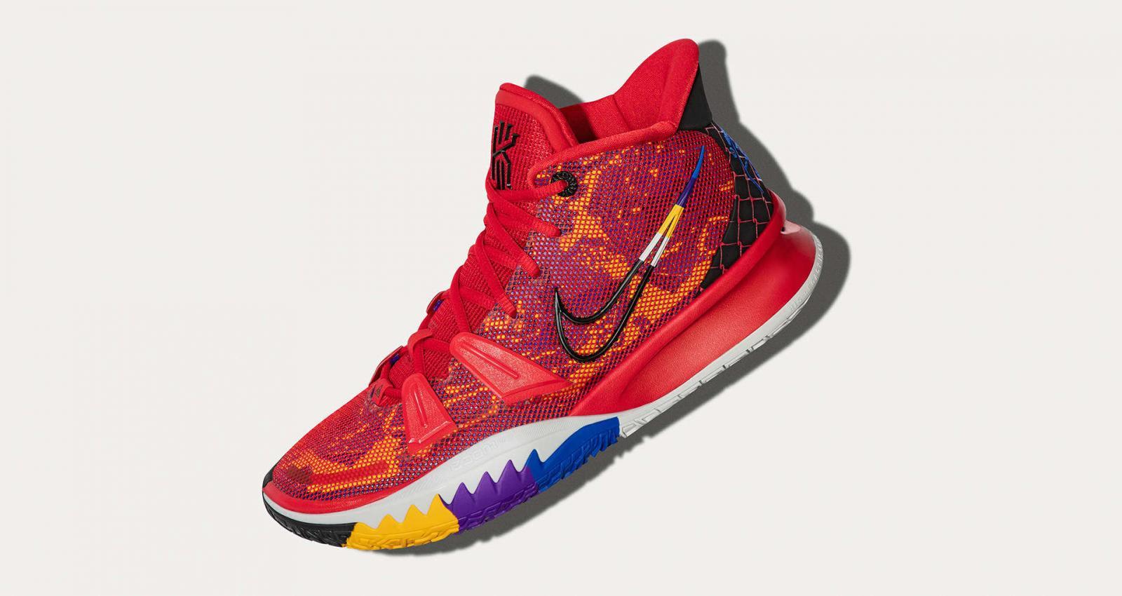 Nike Basketball将以神秘盲盒形式发售四款限量配色KYRIE 7