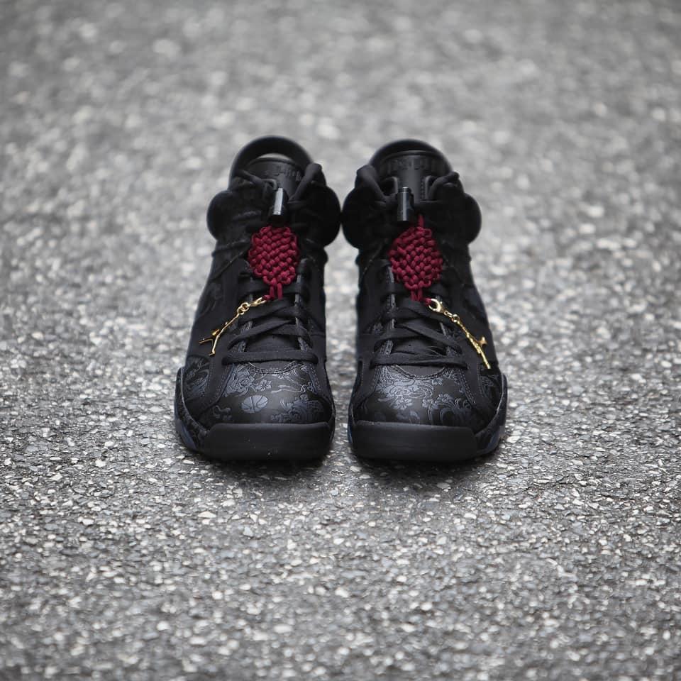 细节实拍展示WMNS Air Jordan 6 Retro Singles' Day