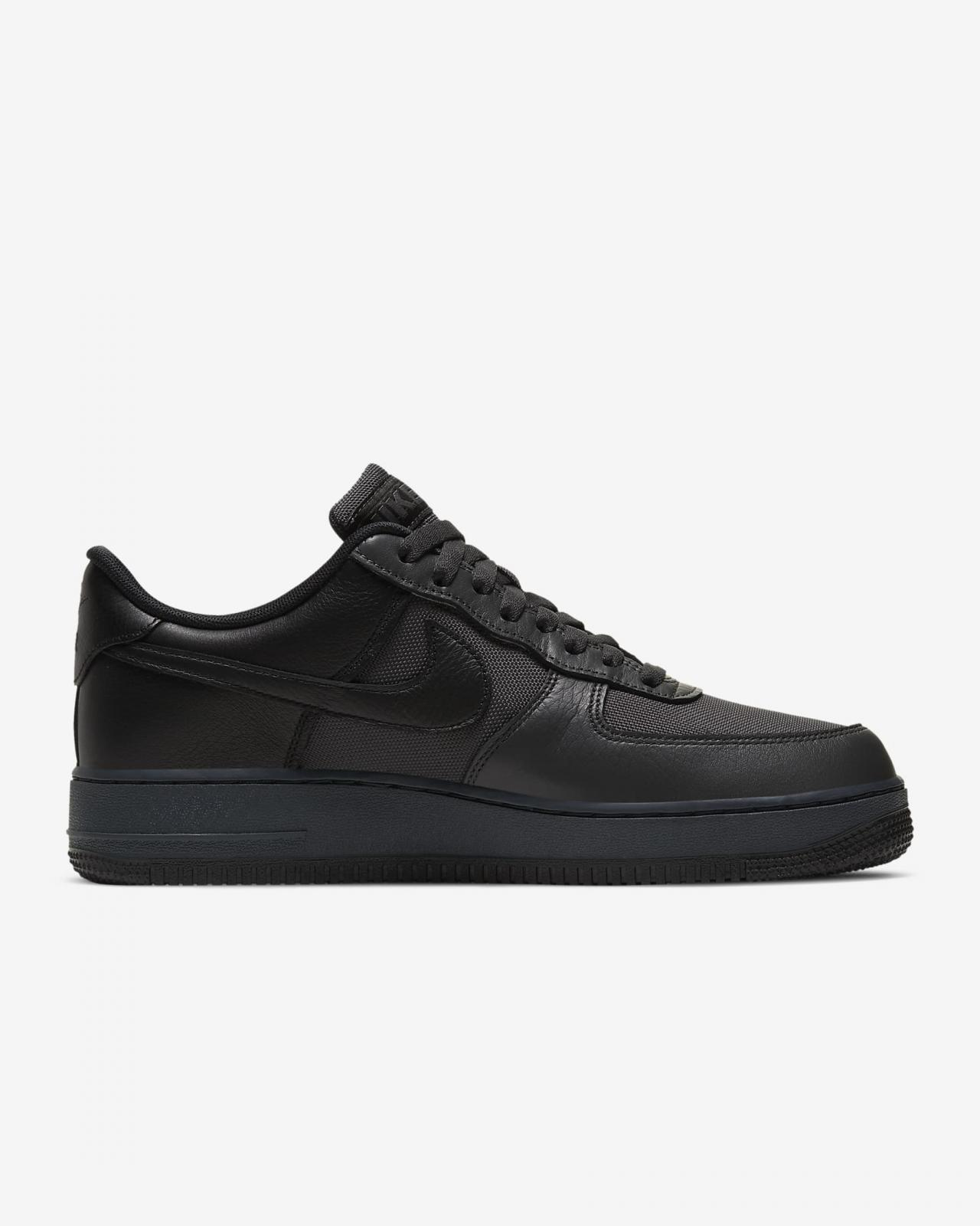 Nike Sportswear推出全新煤黑/微灰/黑色Air Force 1 GTX