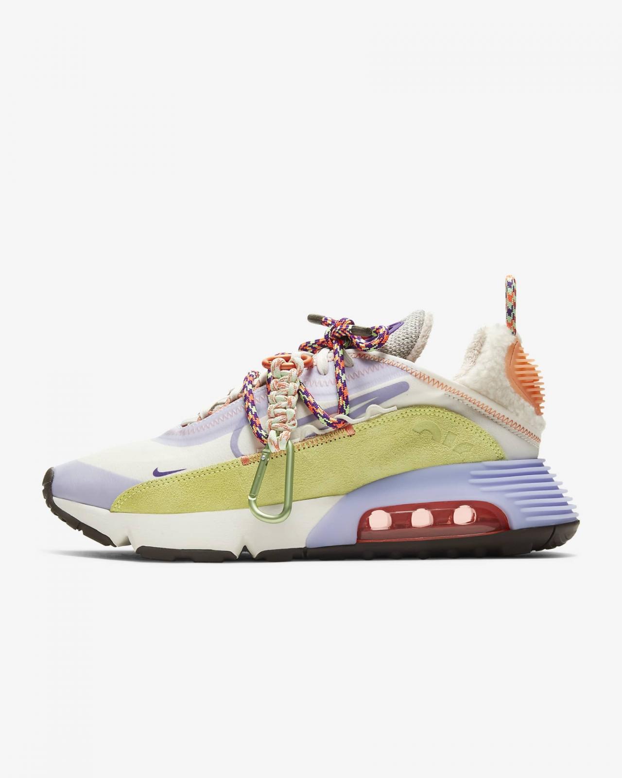 展现你的探险之魂,Nike Sportswear推出帆白/石灰光/冰艳紫丁香色WMNS Air Max 2090