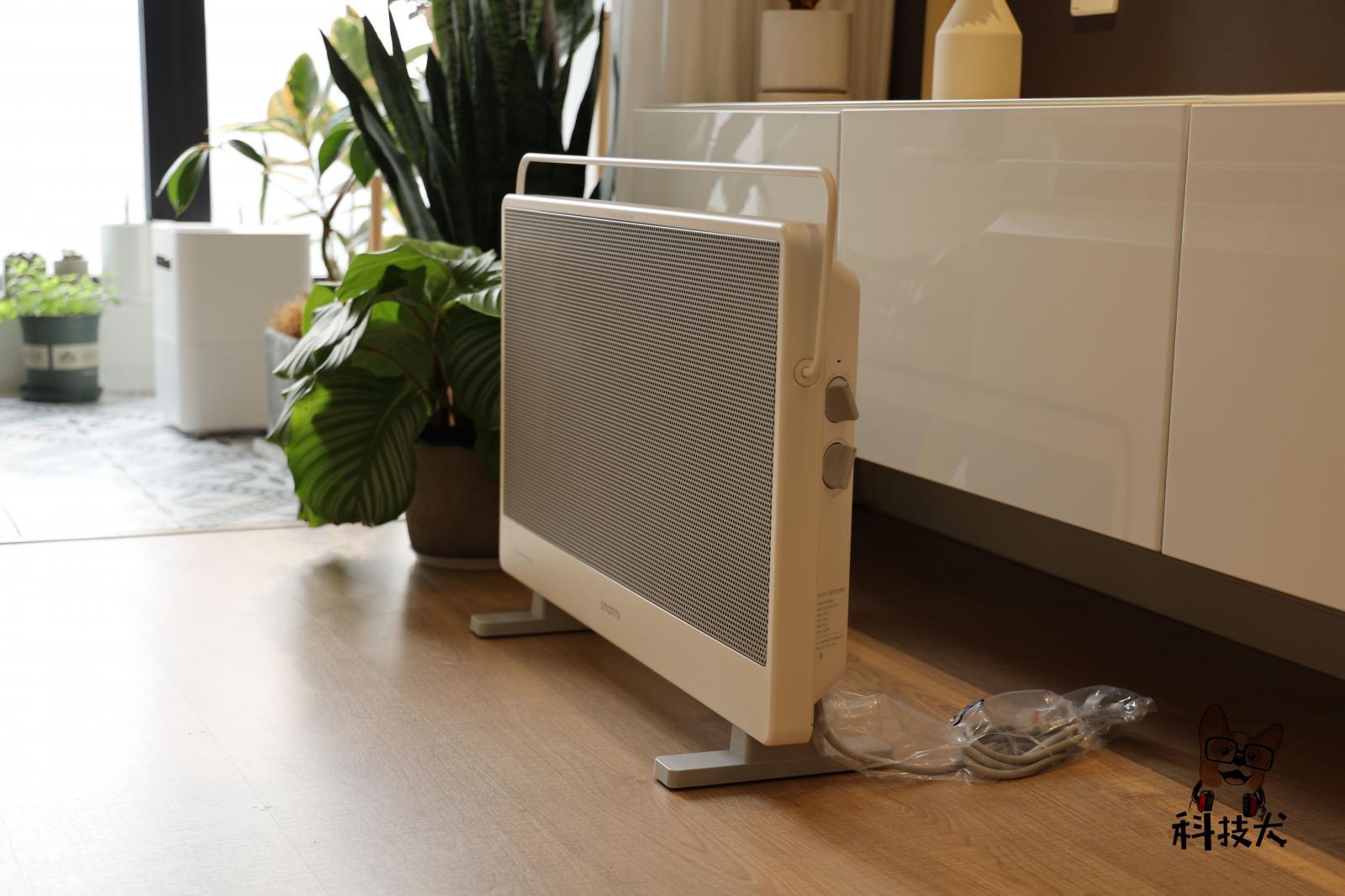 智米石墨烯电暖器评测:满足临时取暖需求 南方人每个冬天都用它