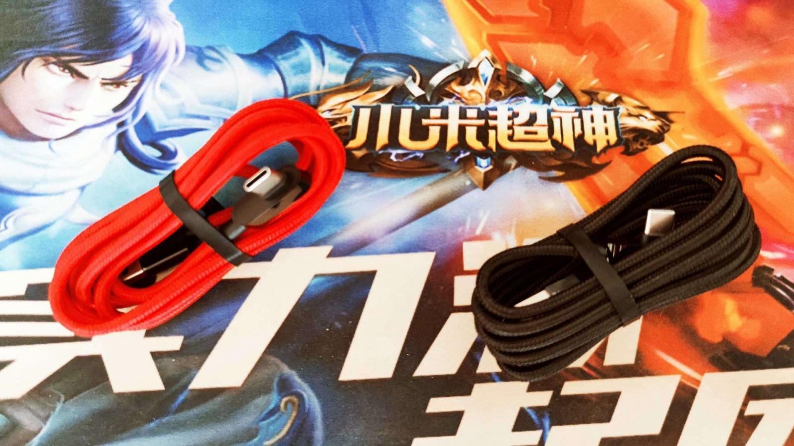 弯头设计,为游戏而生,ZMI游戏编织数据线