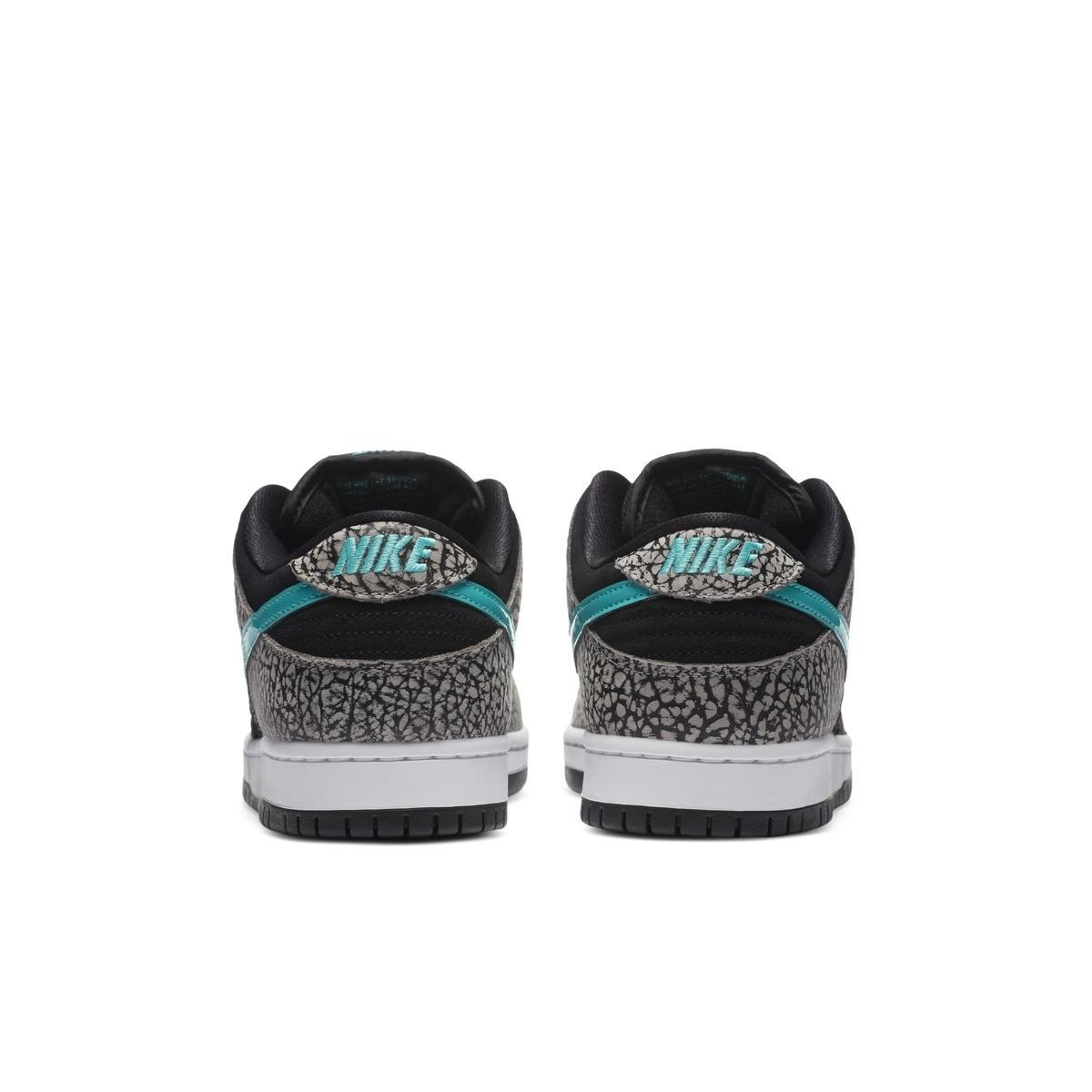 """预览全新中灰/黑/白/翡翠绿色Nike SB Dunk Low """"Elephant""""官方产品图"""