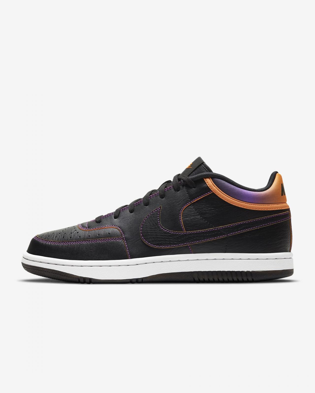 Nike Sportswear推出全新黑/明亮紫/白/荷兰橙色Sky Force 3/4
