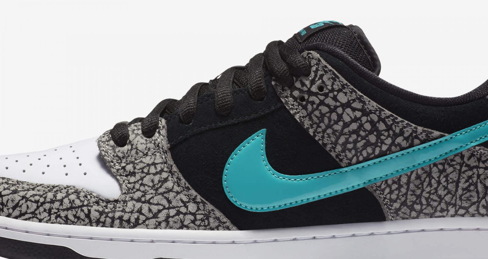 演绎经典AM1配色设计,Nike SB发布全新Dunk Low Pro