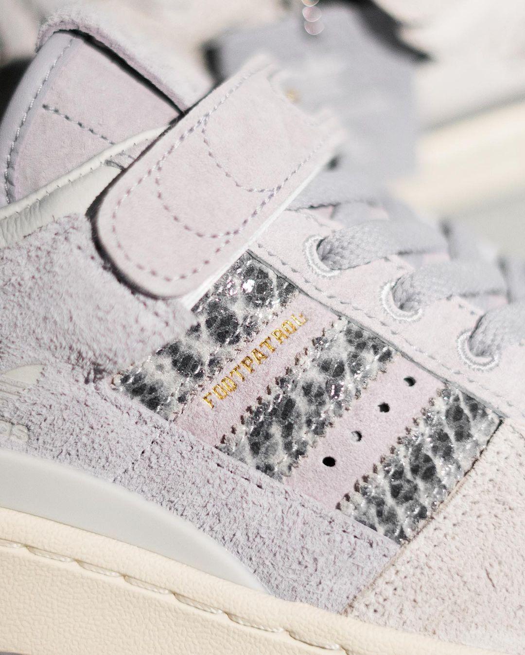 adidas Originals携手Footpatrol呈上联名新款Forum 84 Low
