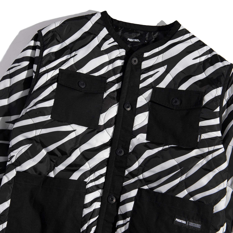 PHANTACi发布全新Zebra Pattern Liner Jacket服饰单品