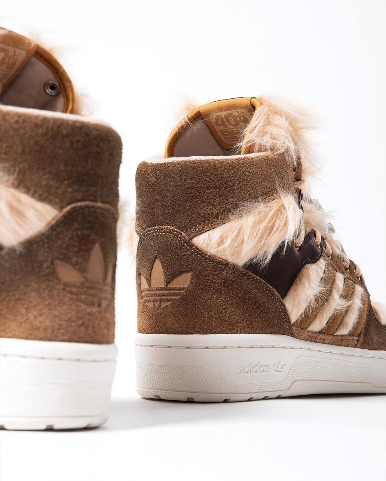 """实拍预览adidas Rivalry Hi Star Wars """"Chewbacca"""""""
