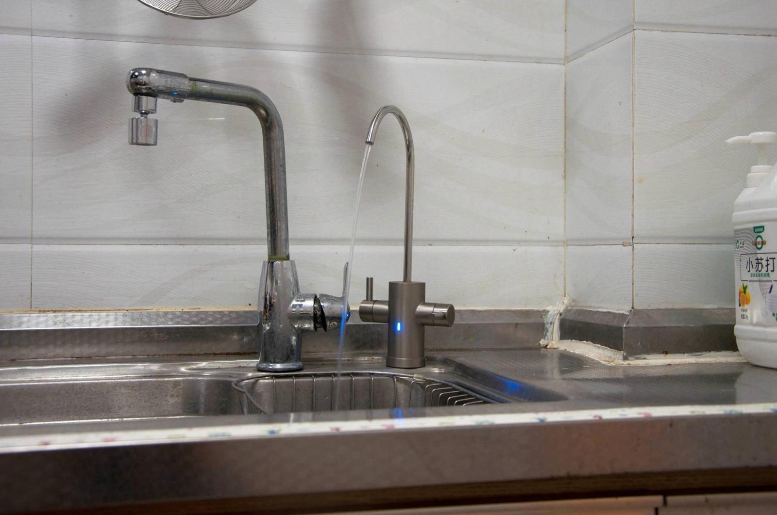 小米净水器新品,生活水+直饮水双开关,侧抽滤芯6级过滤真实用