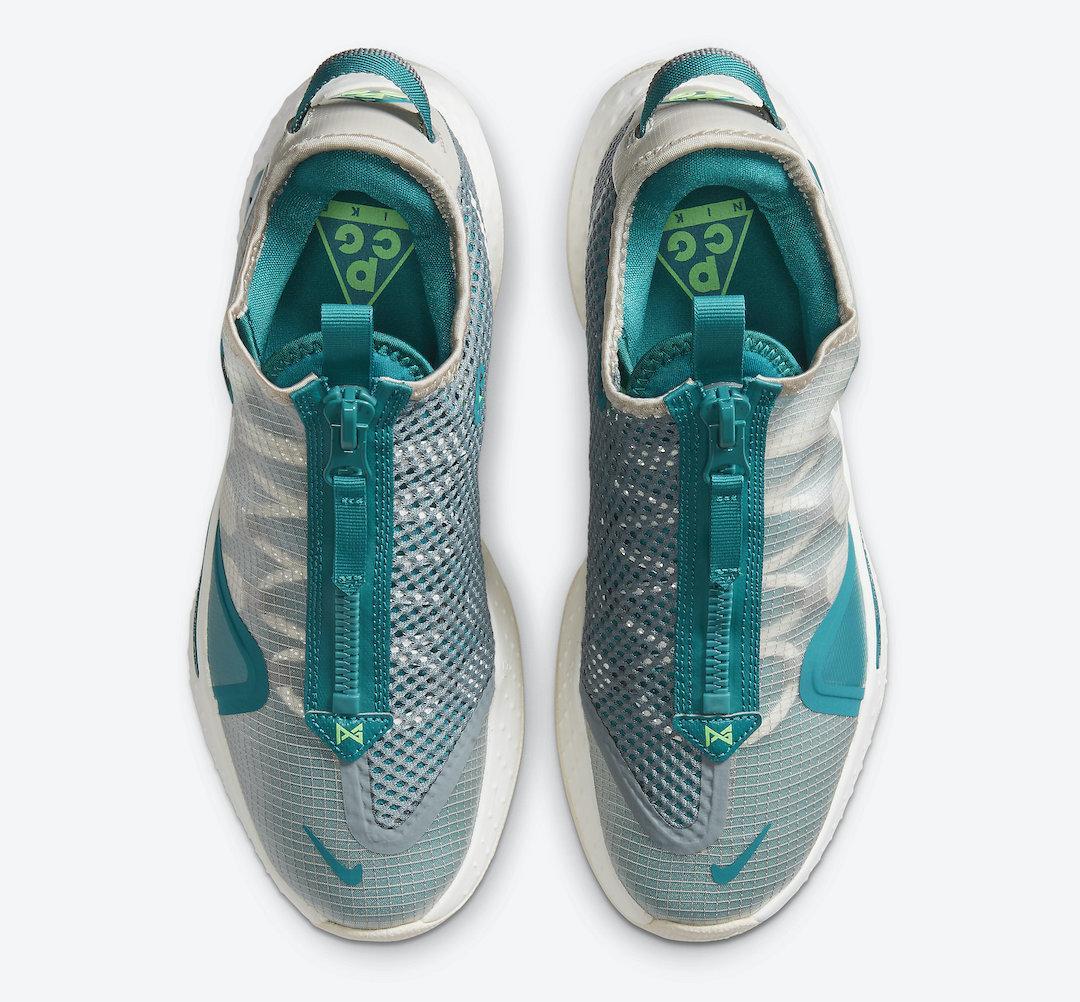 "Nike Basketball将推出全新冷蓝色PG4 ""PCG2"""