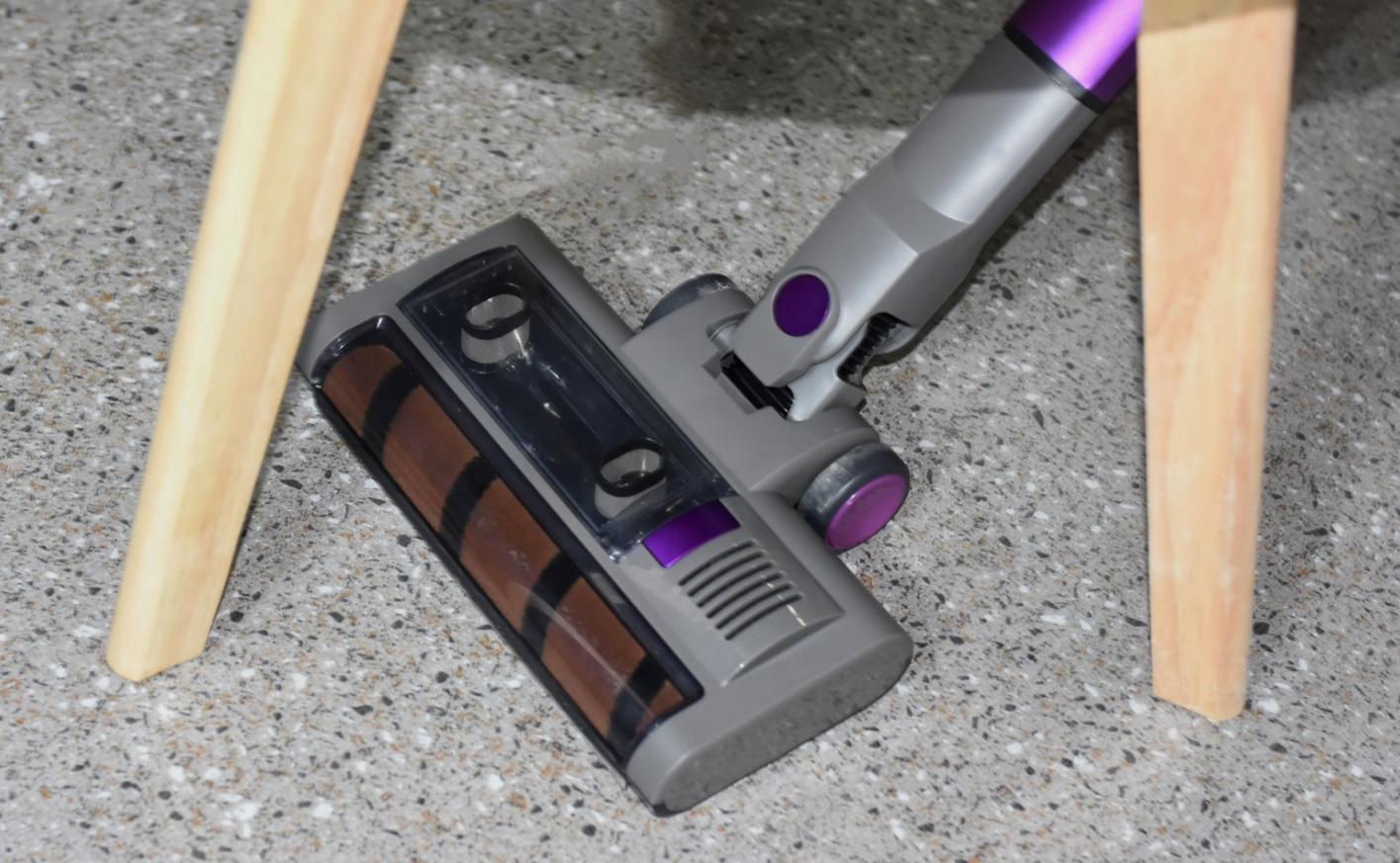 家居卫生轻松搞定,可单手操控的吉米小轻杆无线吸尘器