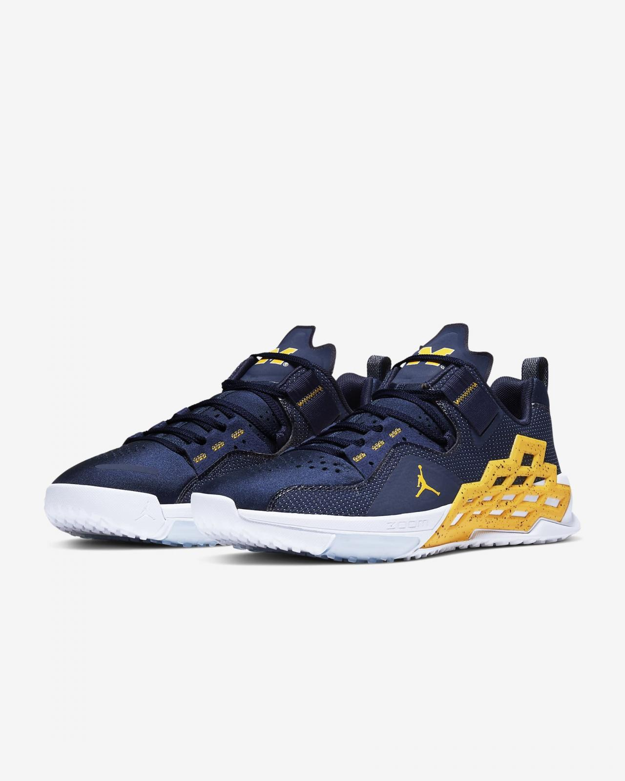 Jordan品牌推出全新Jordan Alpha 360 TR (Michigan)