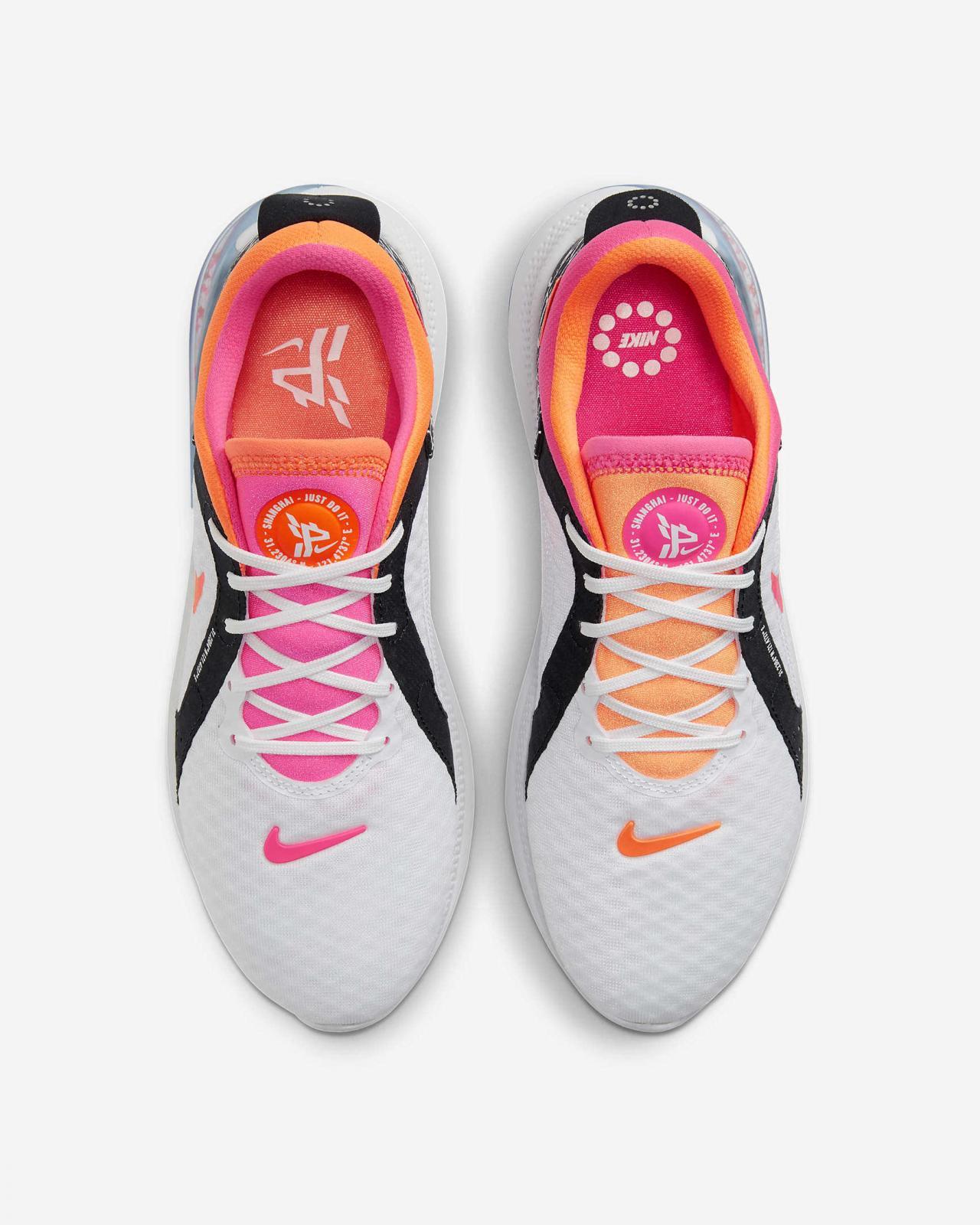 Nike Running推出全新上海限定白/黑/透明粉色WMNS Joyride Dual Run 2