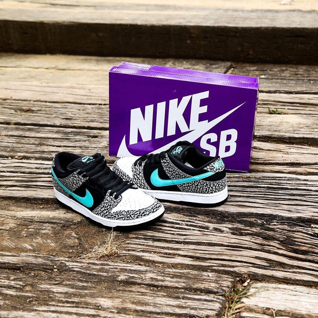 实拍预览全新中灰/黑/白/翡翠绿色Nike SB Dunk Low Pro