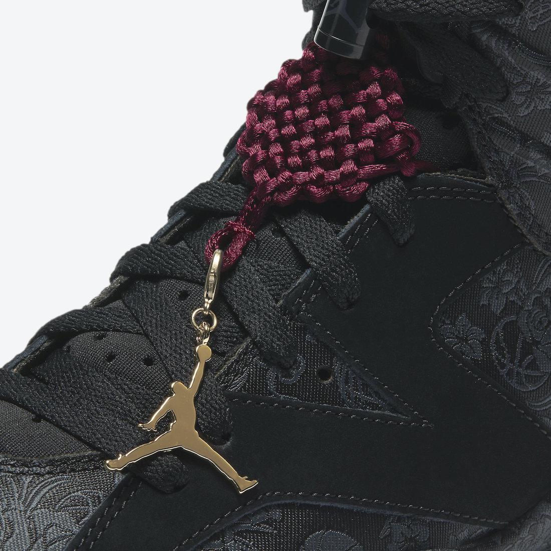 预览Jordan品牌11.11系列黑色WMNS Air Jordan VI SD官方产品图