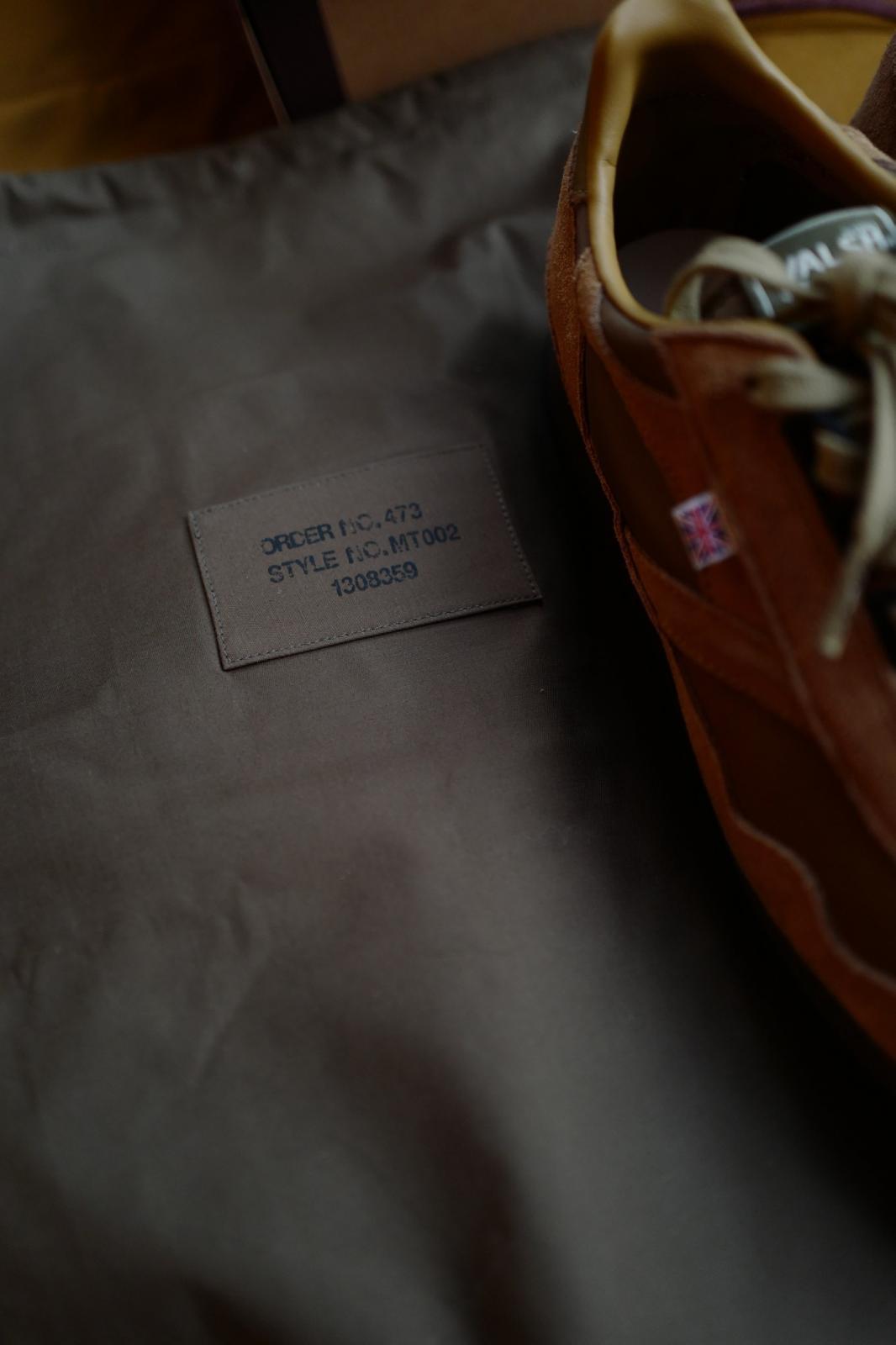 U.Sage 携手 Norman Walsh 打造 British Trainers 联名鞋款