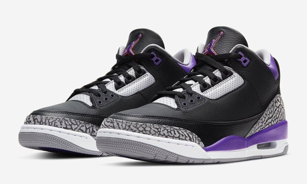 Air Jordan III 「Court Purple」官图释出