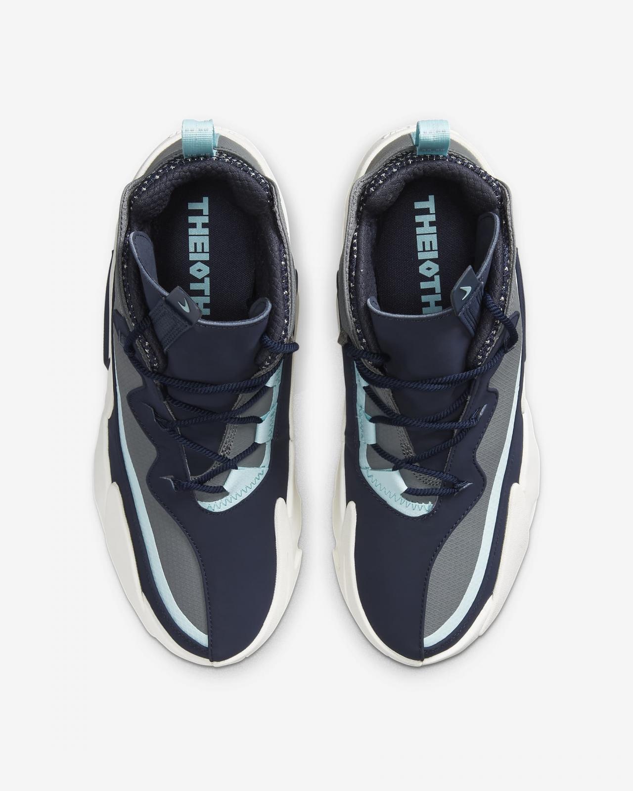 Nike Sportswear推出烟灰/黑曜石/山峰白色React Frenzy