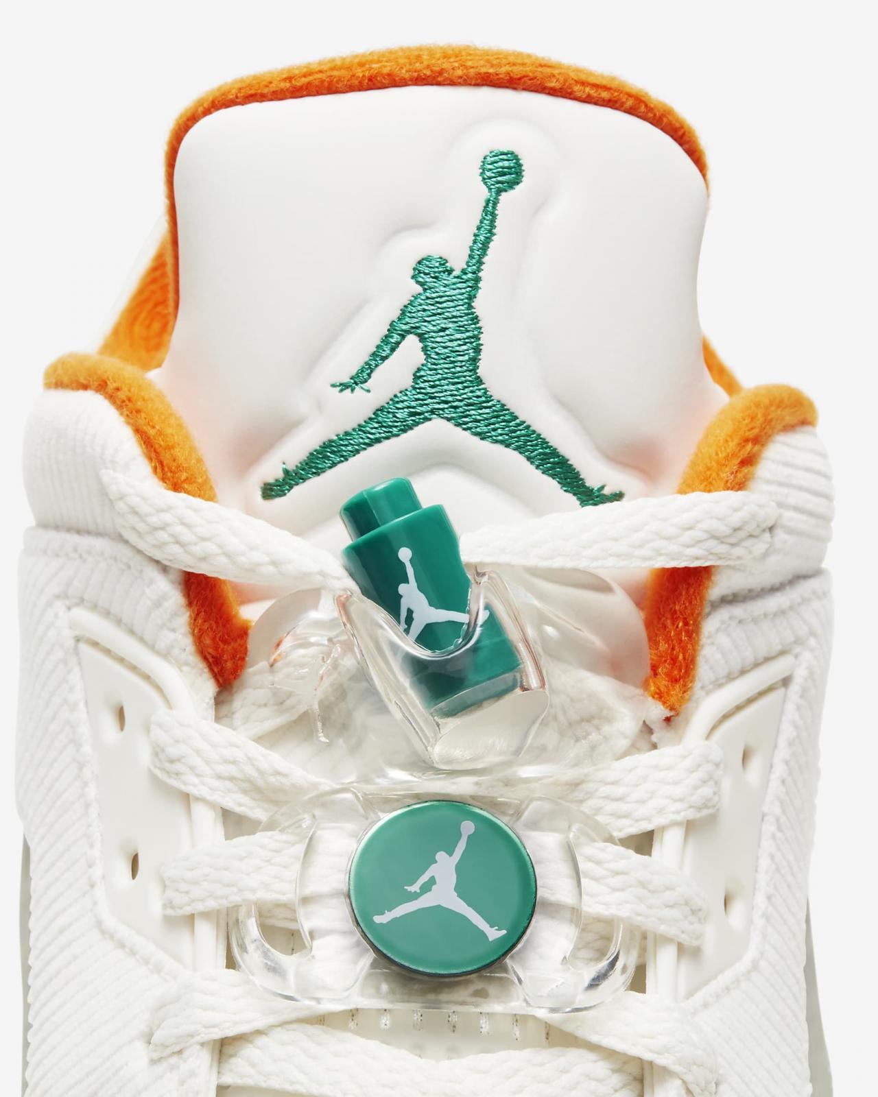 Jordan品牌发布全新帆白/海星橙/海神绿/黑曜石色Jordan 5 Low G
