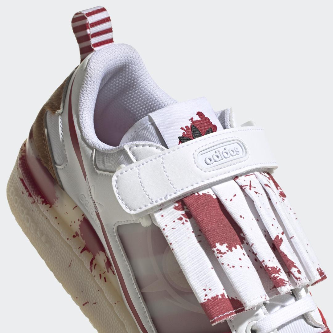"""小心下水道里的""""怪异小丑"""",adidas Originals发布全新万圣节限定Forum Low """"Creepy Clown"""""""