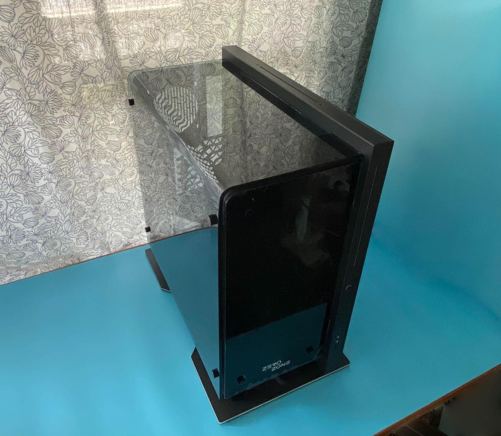 打造桌面卢浮宫,ZEROZONE EOS弯曲玻璃机箱装机实录