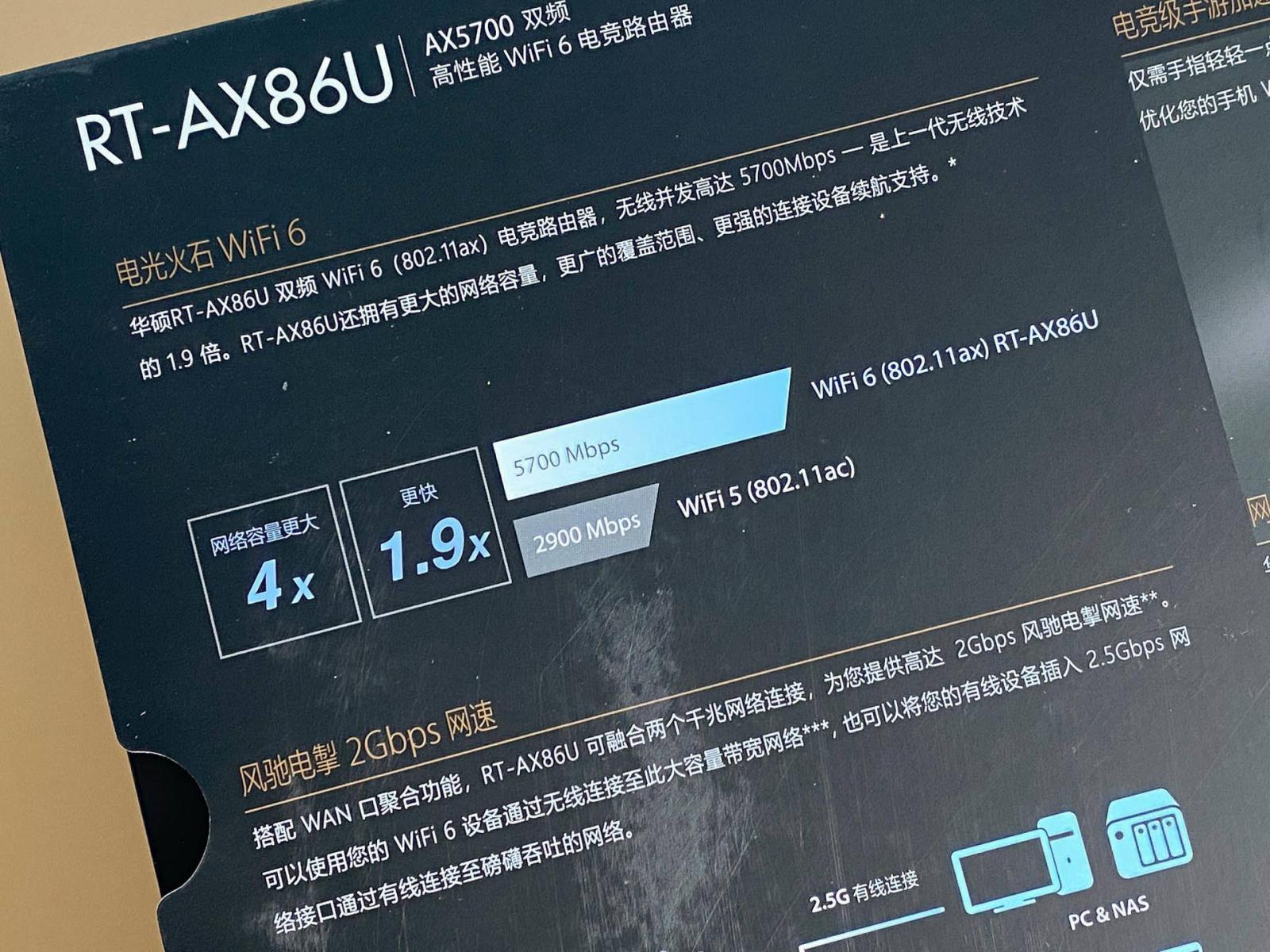 福兮祸兮,意外获得的惊喜,华硕RT-AX86U路由器开箱