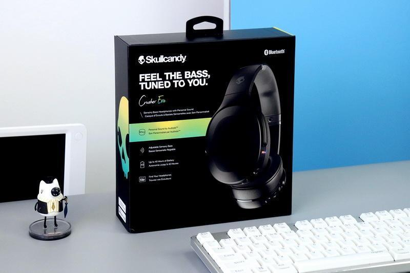 体感震动+个性音效,Skullcandy Crusher Evo摧毁者二代头戴耳机