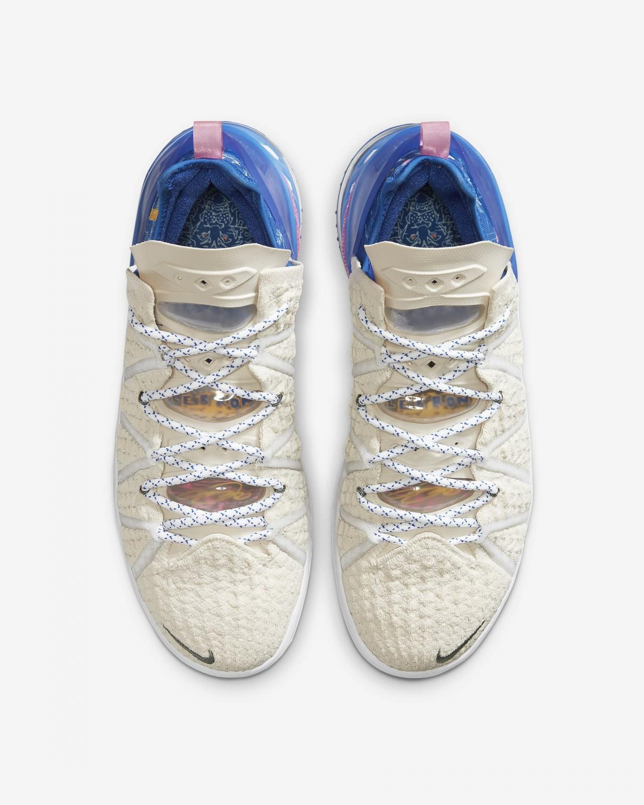 "Nike Basketball发布全新LEBRON 18 ""Los Angeles By Day"""