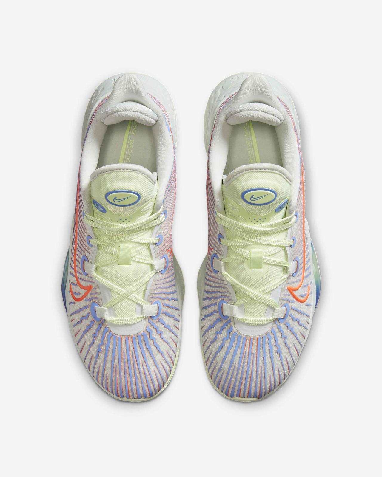 Nike Basketball推出全新杉木浅蓝灰/脉冲宝蓝/超蓝色Air Zoom BB NXT
