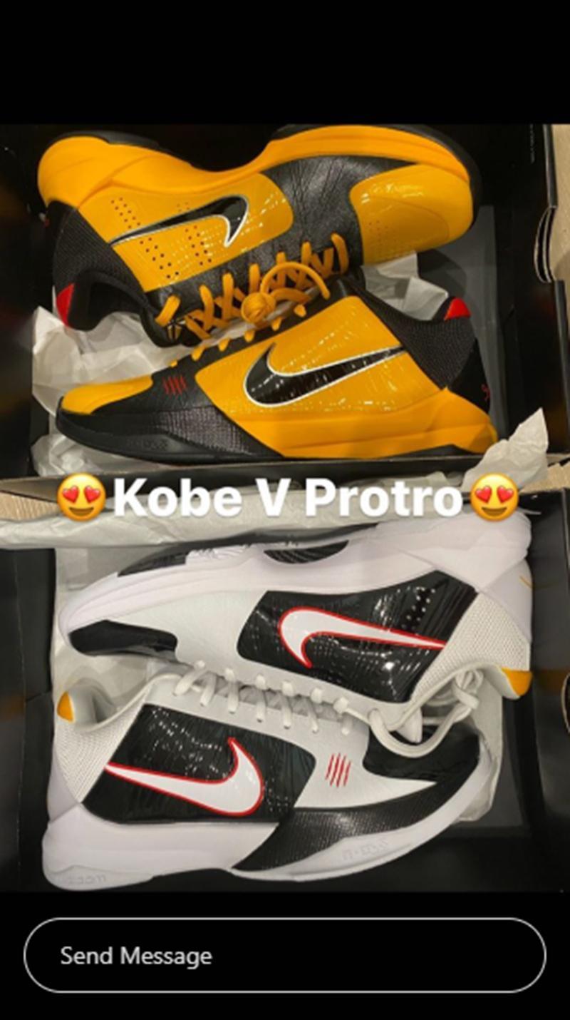 「李小龙」两个版本Kobe 5 官图正式曝光!下月发售!