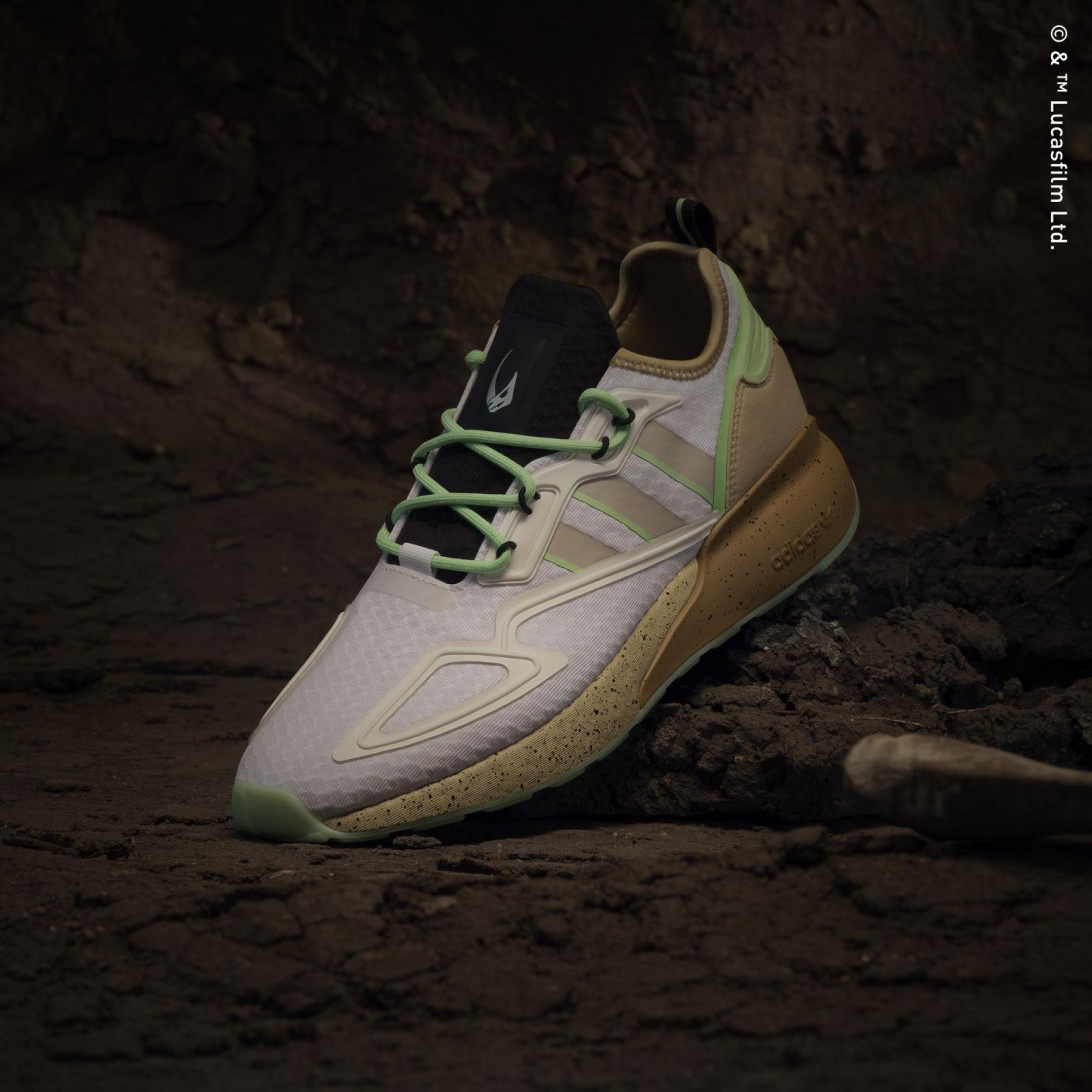 adidas Originals发布全新The Mandalorian™系列ZX 2K Boost Mudhorn