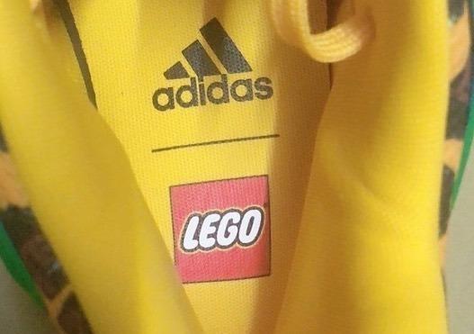 谍照预览LEGO x adidas D.O.N. Issue 3