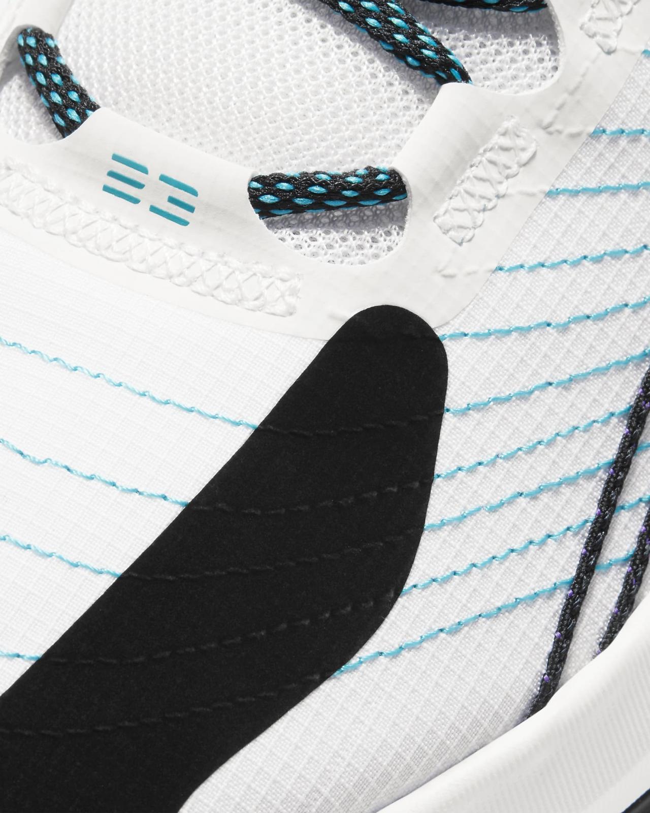 Jordan品牌推出全新白/超级葡萄紫/黑/轻水蓝色Jordan Jumpman 2021 PF