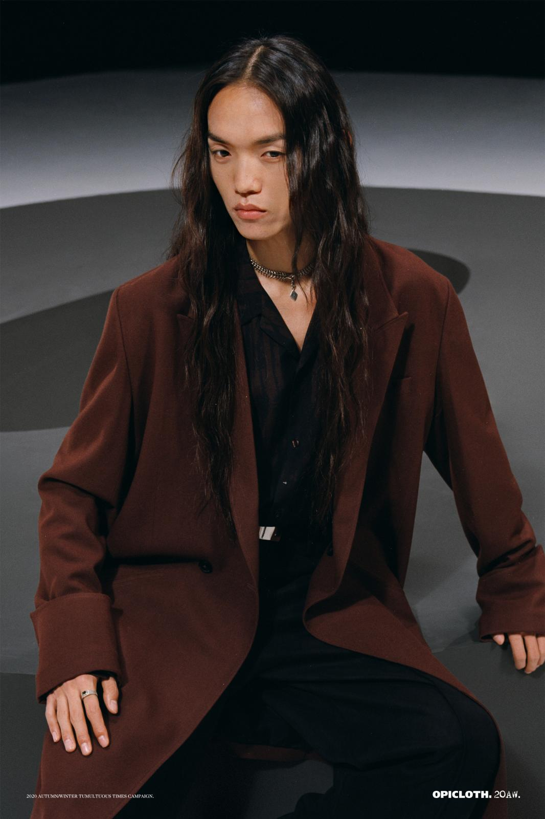 OPICLOTH「湍流時代」 THE AUTUMN WINTER 2020 CAMPAIGN