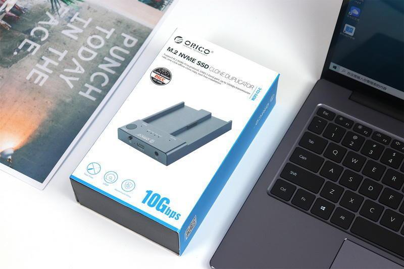 M.2固态硬盘也可一键高速对拷,ORICO两用双盘位SSD硬盘底座