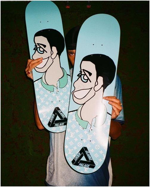 """""""被骂""""是Louis Vuitton首双联名滑板鞋的命运"""