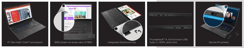 ThinkPad E14/15发布;Y7000P冰魄白来了