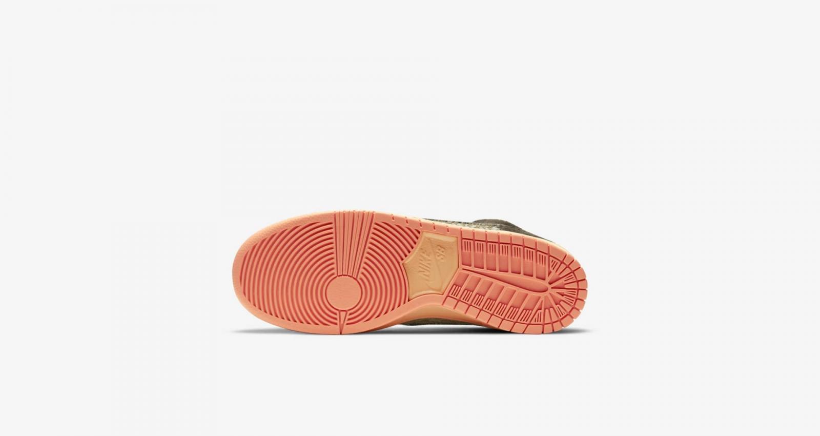 "Nike SB携手Concepts发布全新Dunk High ""Mallard"""