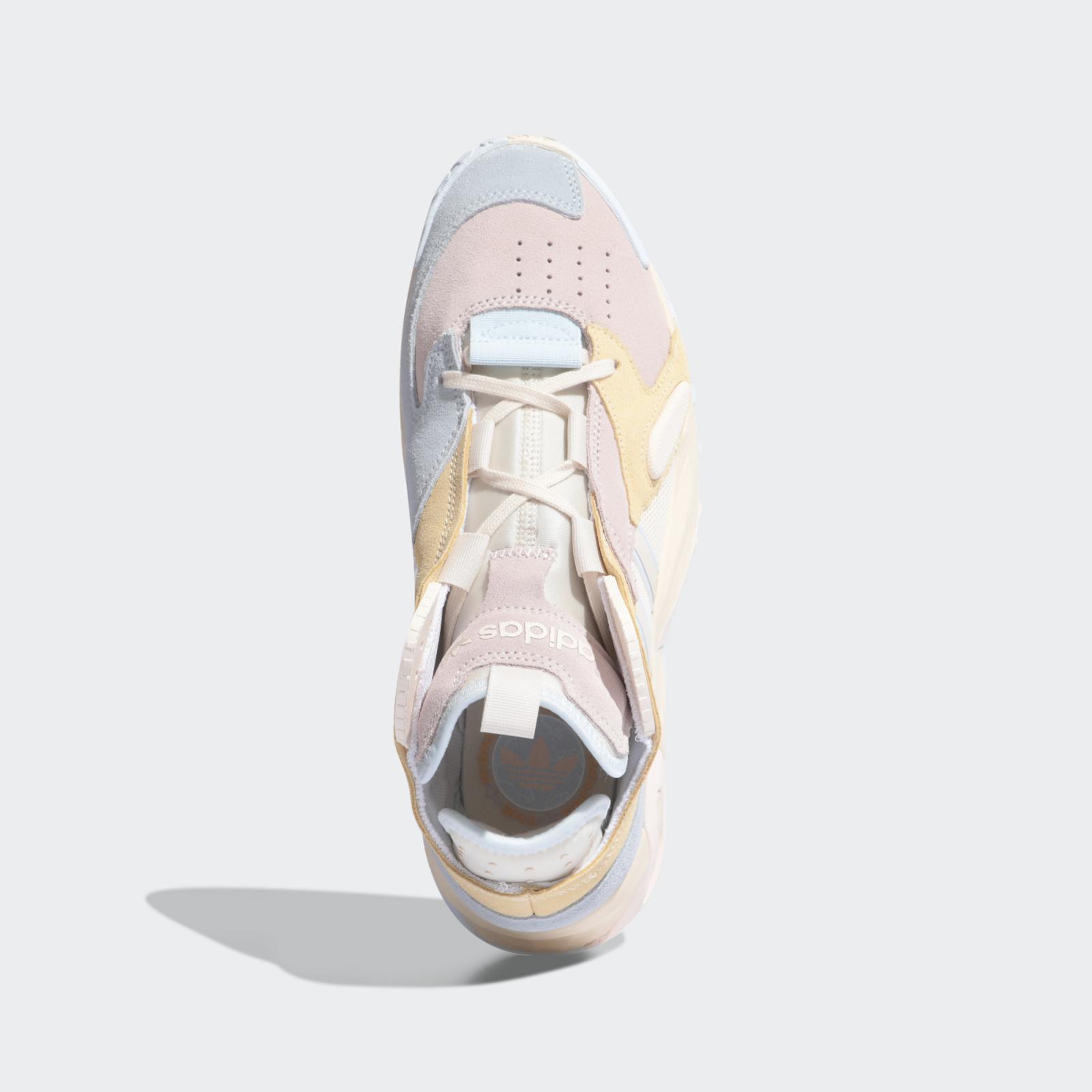 adidas Originals推出全新粉/米黄/蓝色WMNS Streetball