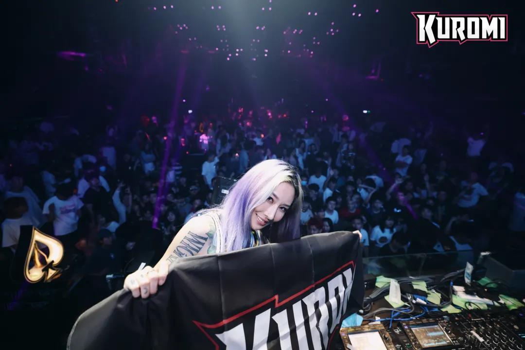 对话华人最强女DJ KUROMI │坚持初心,保持热爱,你就能成为最特别的