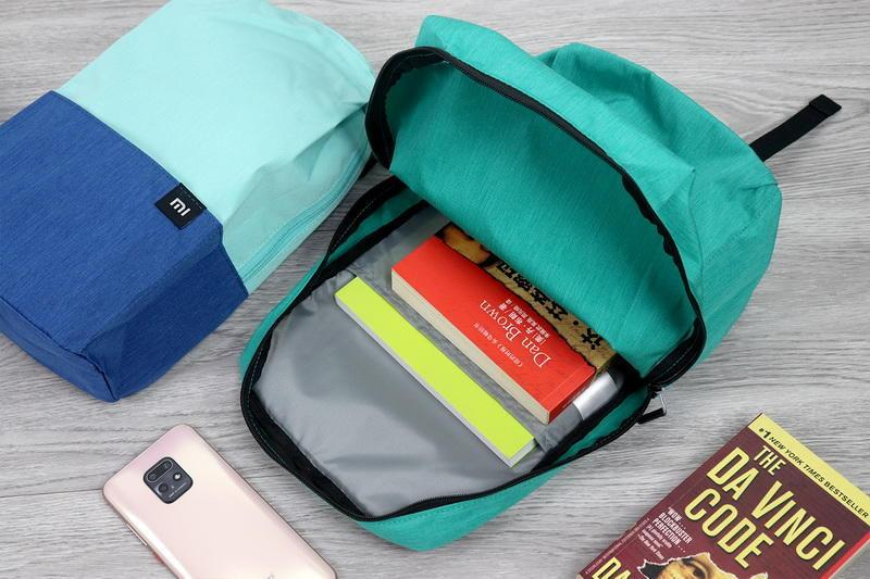 小米新品体验:入手小米小背包三件套,时尚轻便又实用